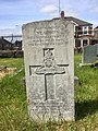 Gravestone of Gunner William Edward Gibbons of the Royal Artillery at Cathays Cemetery, May 2020.jpg