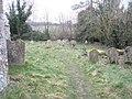 Gravestones within All Saints, East Dean - geograph.org.uk - 1145110.jpg