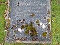 Great Haywood, Staffordshire - St Stephens Church - churchyard, grave of Lady Evelyn Anson (1873-1895) 1.jpg