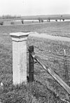 grenspaal bij weidsteeg, beusichemsedijk - culemborg - 20052114 - rce