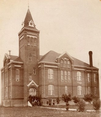 Griggs County, North Dakota - Image: Griggs County Courthouse (c. 1892)