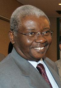 Presidente de Moçambique, Armando Emílio Guebuza.