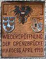 GuentherZ 2007-05-12 3146 Hardegg Gedenktafel Grenzeroeffnung 1990.jpg