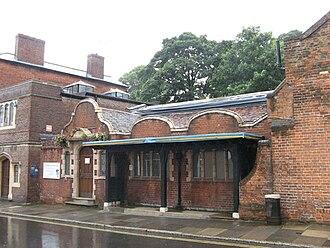 Guildford Museum - Guildford Museum Quarry Street Entrance