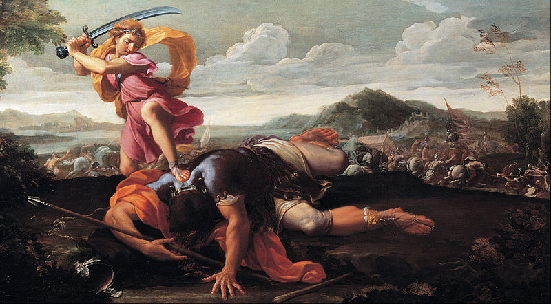 File:Guillaime Courtois - David and Goliath - Google Art Project.jpg