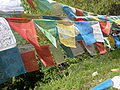 Guishan Temple prayer flags.JPG