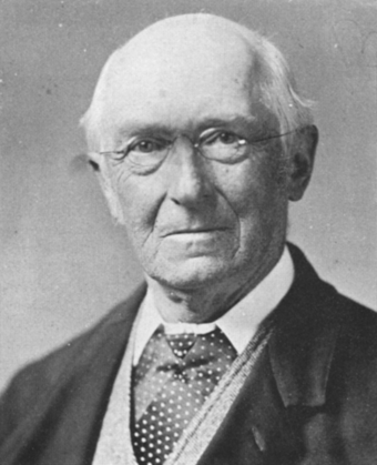 Albert Gunther, who described Testudo abingdonii in 1877 Gunther Albert 1830-1914.png
