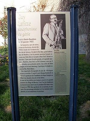 Guy Lafitte - Monument in Saint-Gaudens