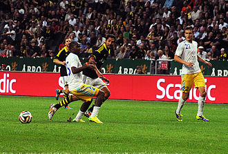 FC Astana - Match against AIK in 2014