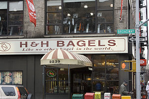 H&H Bagels - View from Broadway