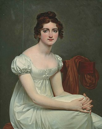 Jean-Joseph, Marquis Dessolles - Hélène Charlotte Pauline Dessolles (Antoine-Jean Gros)