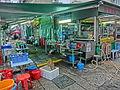 HK 大坑 Tai Hang 安庶庇街 Ormsby Street sidewalk food stall Apr-2014 evening.JPG