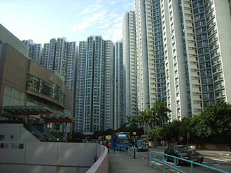 South Horizons - South Horizons Phase II (middle) and Phase I (right), with Marina Square West on the left.