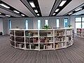 HK TKL 調景嶺 Tiu Keng Leng CIHE Campus 明愛專上學院 Caritas Centre CBCC Library interior July 2019 SSG 02.jpg