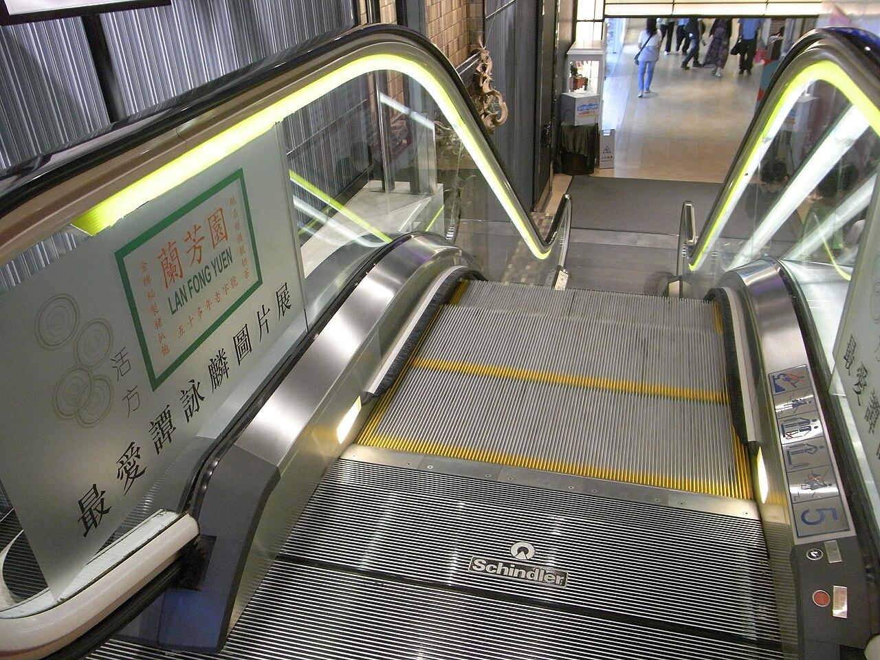 File Hk Tst Chung King 活方商場 Woodhouse Entrance Escalator