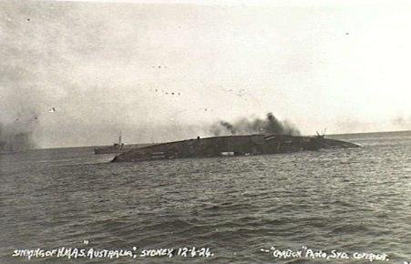 HMAS Australia sinking 12 April 1924 AWM 300256.jpeg