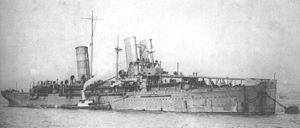 HMS Campania (1914) - Image: HMS Campania 1