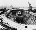 HMS Hunter (H35) in drydock at Gibraltar on 9 July 1937.jpg
