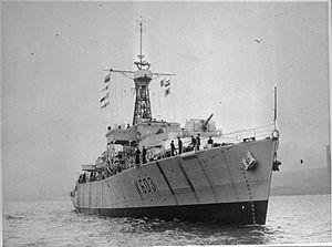 HMS Loch Arkaig (K603) - Image: HMS Loch Arkaig 1945 IWM FL 1928
