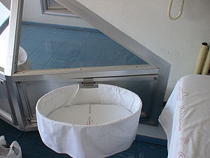 Breastfeeding - Rooming-in bassinet