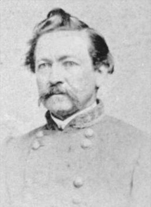 Harry T. Hays - Harry Thompson Hays photo taken between 1862 and 1865