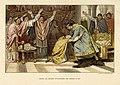 HUA-39480-Afbeelding van de knielende Frederik in 817 gekozen tot bisschop van Utrecht die door keizer Lodewijk de Goede overeind wordt geholpen.jpg