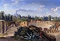 Hackert, Blick auf das große Theater von Pompeji, 1793.jpg