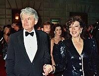 Hal Holbrook and Dixie Carter at the 41st Emmy Awards, Sunday September 17, 1989