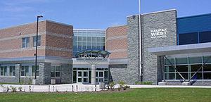 Halifax West High School - Halifax West exterior