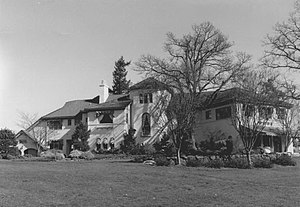 Hall–Chaney House - The Hall–Chaney House in 1988.