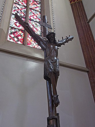 Forked cross - Image: Haltern 118763