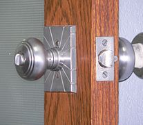 Hamilton County Courthouse (Kansas) doorknob.JPG