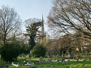 Hampton Hill - Image: Hampton Hill cemetery