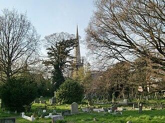 Hampton Hill - Image: Hampton Hill cemetery