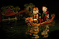 Hanoi Water Puppets - Legend of the restored sword King Le Loi on boat (3695189302).jpg