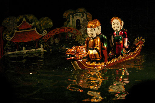Hanoi Water Puppets - Legend of the restored sword King Le Loi on boat (3695189302)