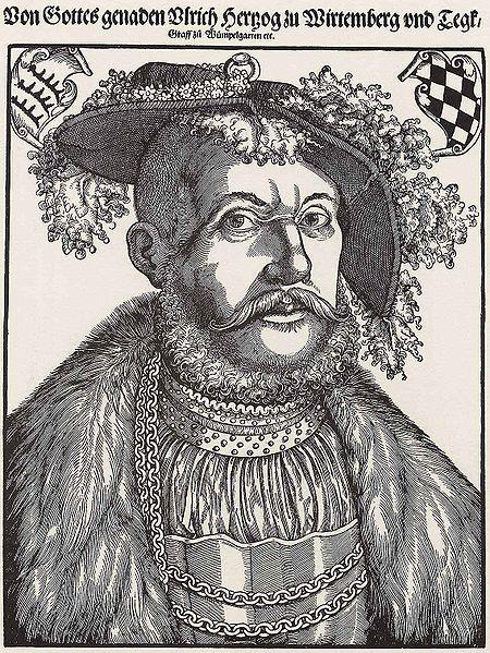 File:Hans Brosamer Porträt des Herzogs Ulrich von Württemberg und Teck.jpg