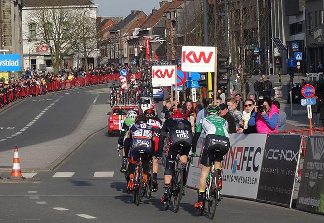 Harelbeke - Driedaagse van West-Vlaanderen, etappe 1, 7 maart 2015, aankomst (A38).JPG