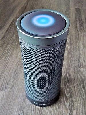 Smart speaker - Image: Harman Kardon Invoke Speaker aerial