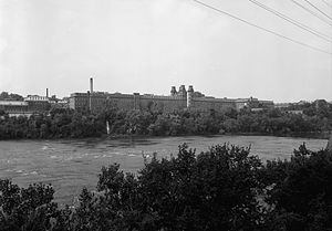 Harmony Mills - Image: Harmony Mills from Across HAER cropped