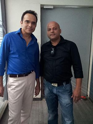 Harsh Chhaya on the set of ONCE MORE STUDIOS.jpg