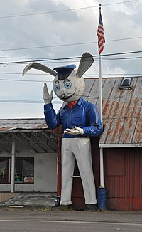 Harvey Rabbit on TV Highway