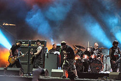Hatebreed auf dem With Full Force Festival 2013