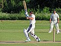 Hatfield Heath CC v. Netteswell CC on Hatfield Heath village green, Essex, England 16.jpg