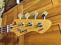Headstock of Hohner bass guitar LX90B.jpg
