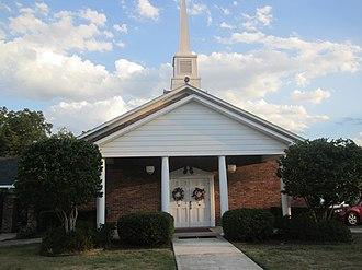 Heflin, Louisiana - Heflin Baptist Church; pastor Dr. Mike Hawkins (2011)