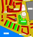 Heilbronn November 1985 Innenstadtplanung einer Tiefgarage mit darüberbefindlichem Landerer-Park.PNG