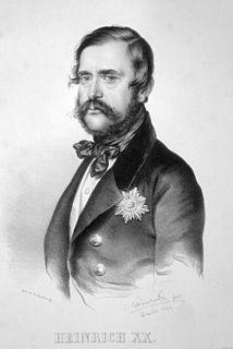 Heinrich XX, Prince Reuss of Greiz Prince Reuss of Greiz