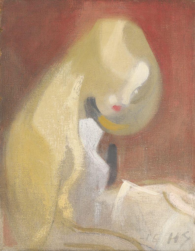 """Resultado de imagen de Helene Schjerfbeck """"Girl with Blonde Hair"""""""
