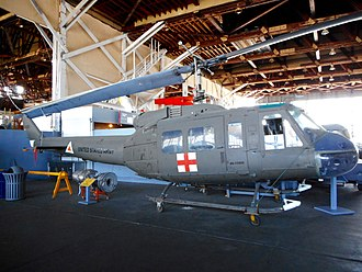 Naval Air Station Wildwood Aviation Museum - Bell UH-1